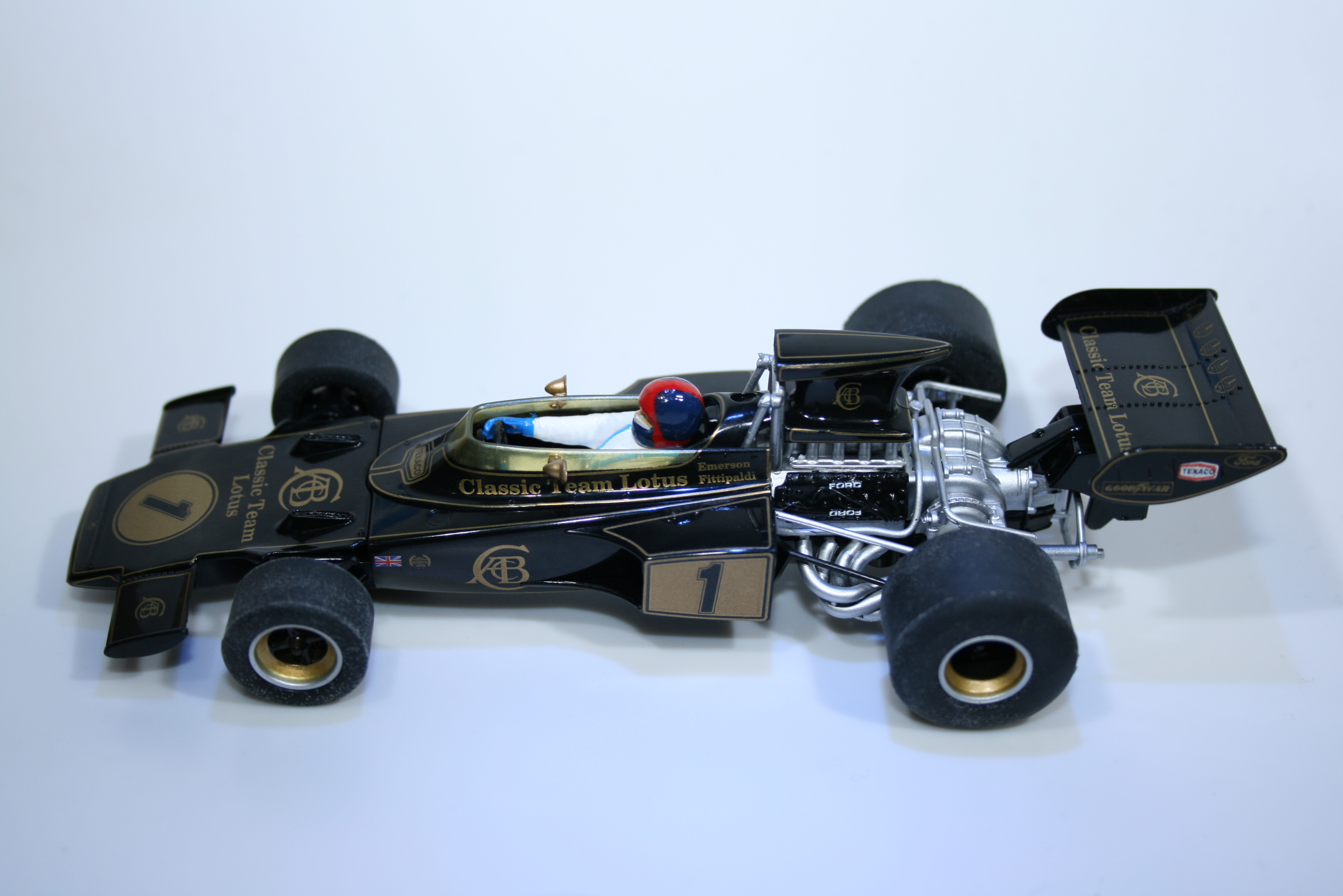 822 Lotus 72E 1973 E Fittipaldi Scalextric C3479A 2014 Boxed