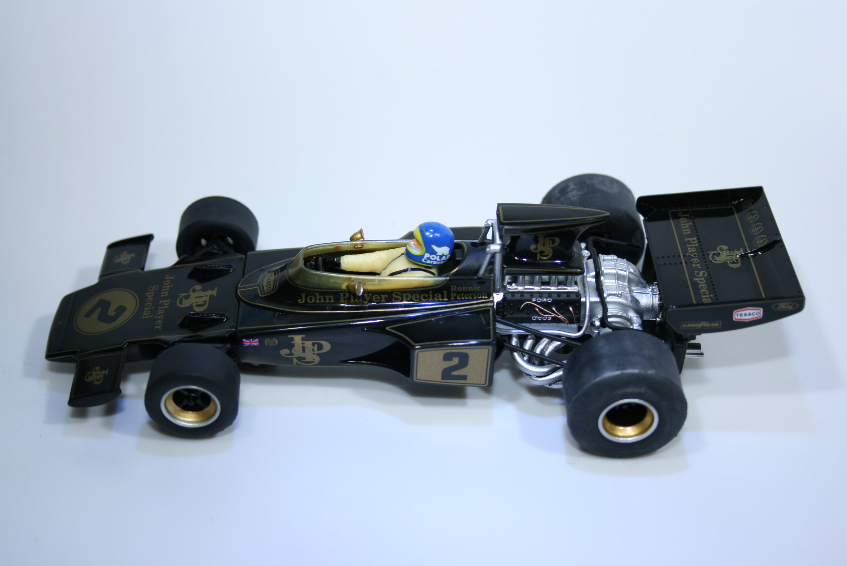 895 Lotus 72E 1973 R Peterson Scalextric C3703A 2015 Boxed
