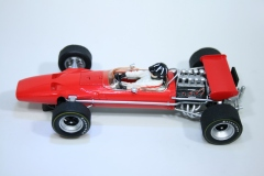 1645 Lotus 49 1969 G Hill Scalextric C3701A Pre Production 2016 Boxed