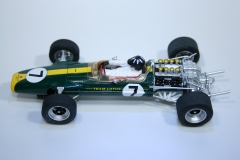 553 Lotus 49 1967 G Hill Scalextric C3031 2009 Boxed
