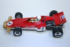 890 Lotus 72 1970 J Rindt Policar CAR02A 2015 Boxed