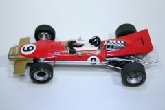893 Lotus 49B 1968 G Hill Scalextric C3656A 2015 Boxed