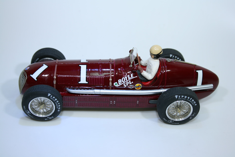 1423 Maserati 8CTF 1940 W Shaw Ostorero ODG061 2012 Boxed