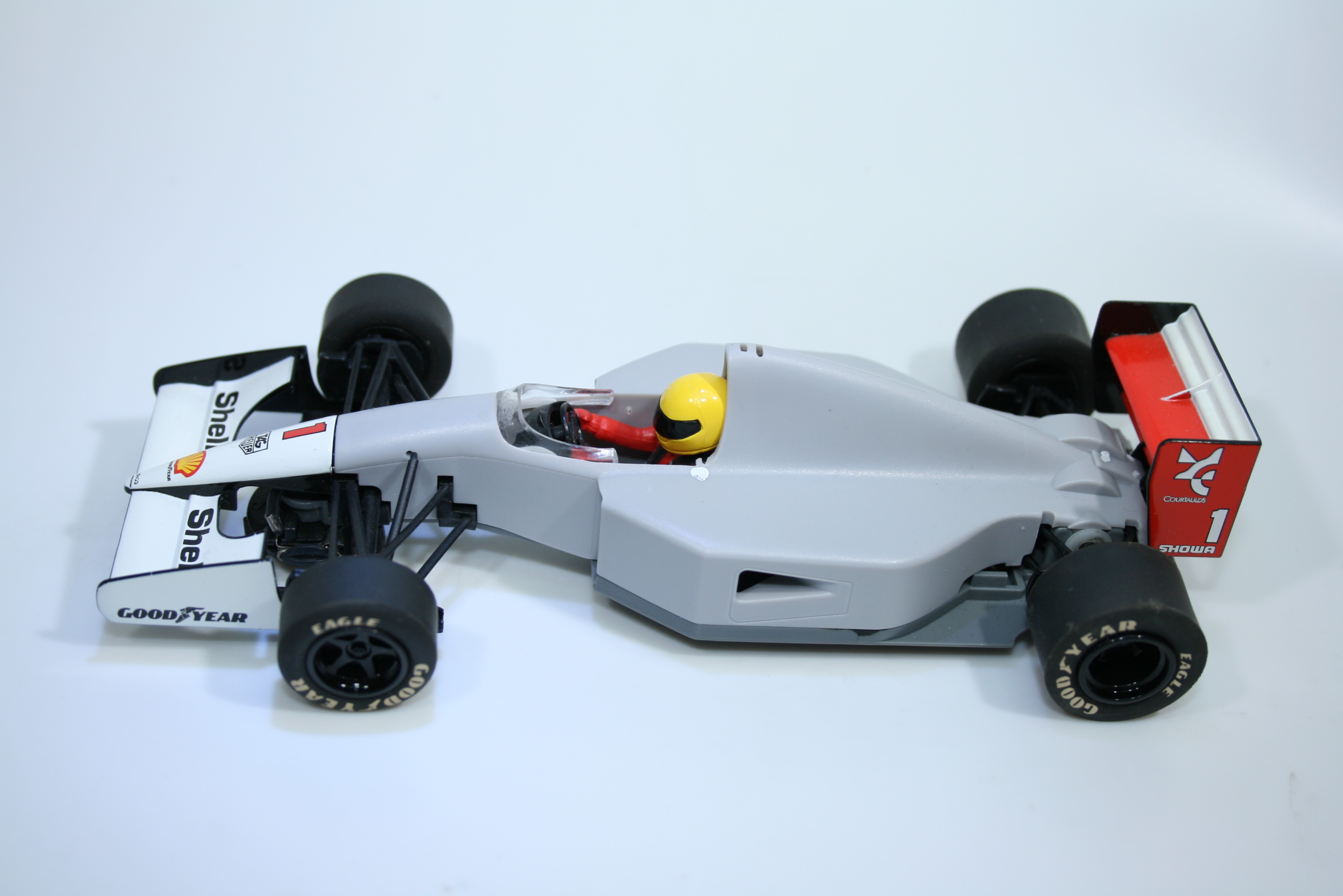 1356 Mclaren MP4/6 1991 A Senna Scalextric C3095 2010 Pre Production