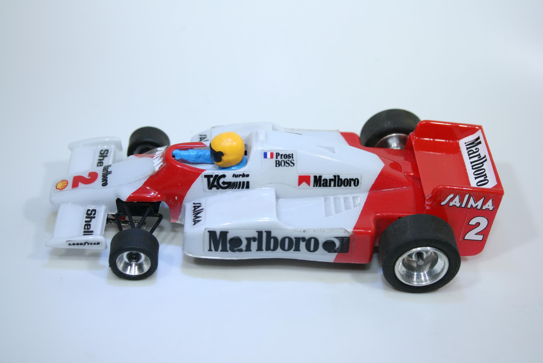 1631 Mclaren MP4/2B 1985 A Prost Scalextric SRS 020 SPA 1985