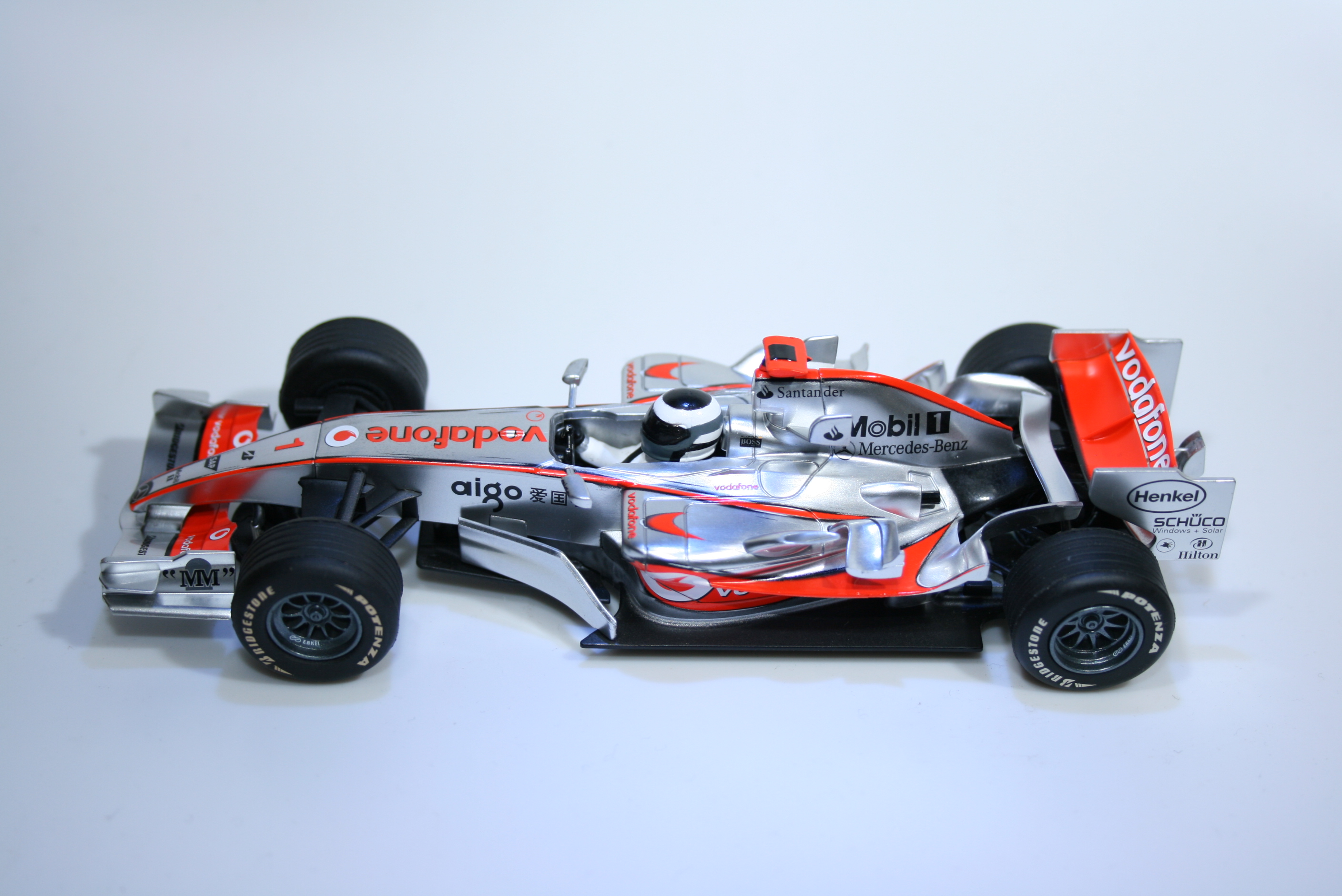 331 Mclaren MP4/22 2007 F Alonso Scalextric C2806 2007 Boxed