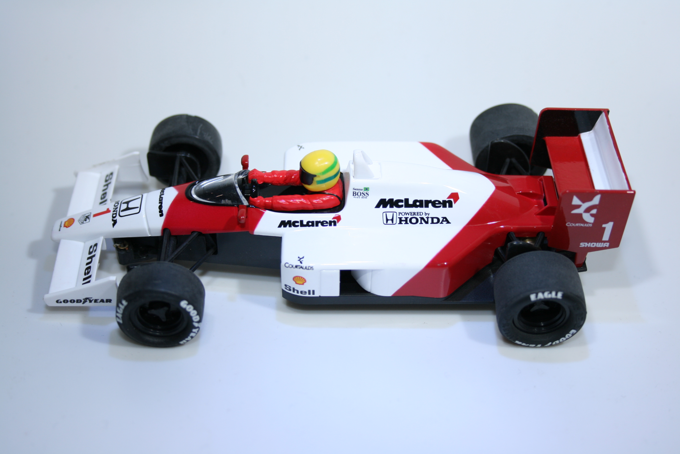 490 Mclaren MP4/6 1991 A Senna SCX 64270 2009 Boxed