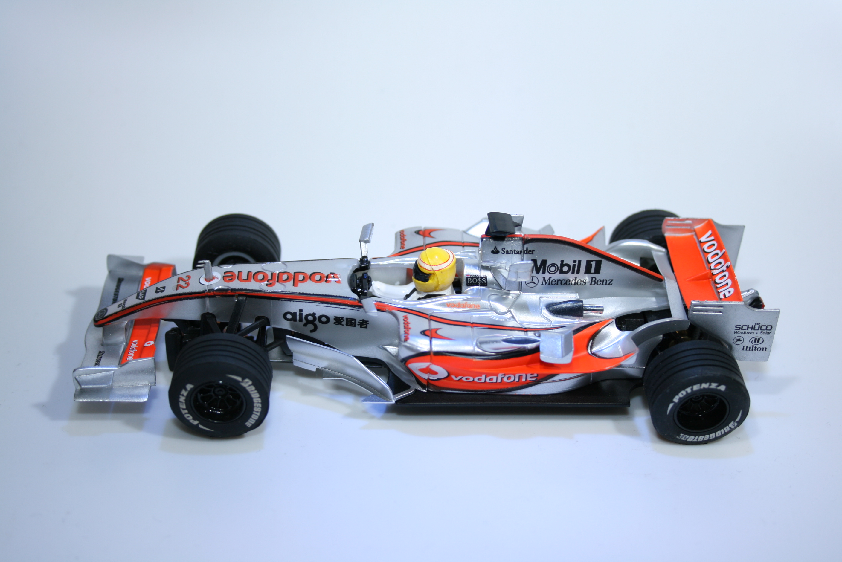 788 Mclaren MP4/23 2008 L Hamilton SCX Grand Campeones 2008 Boxed
