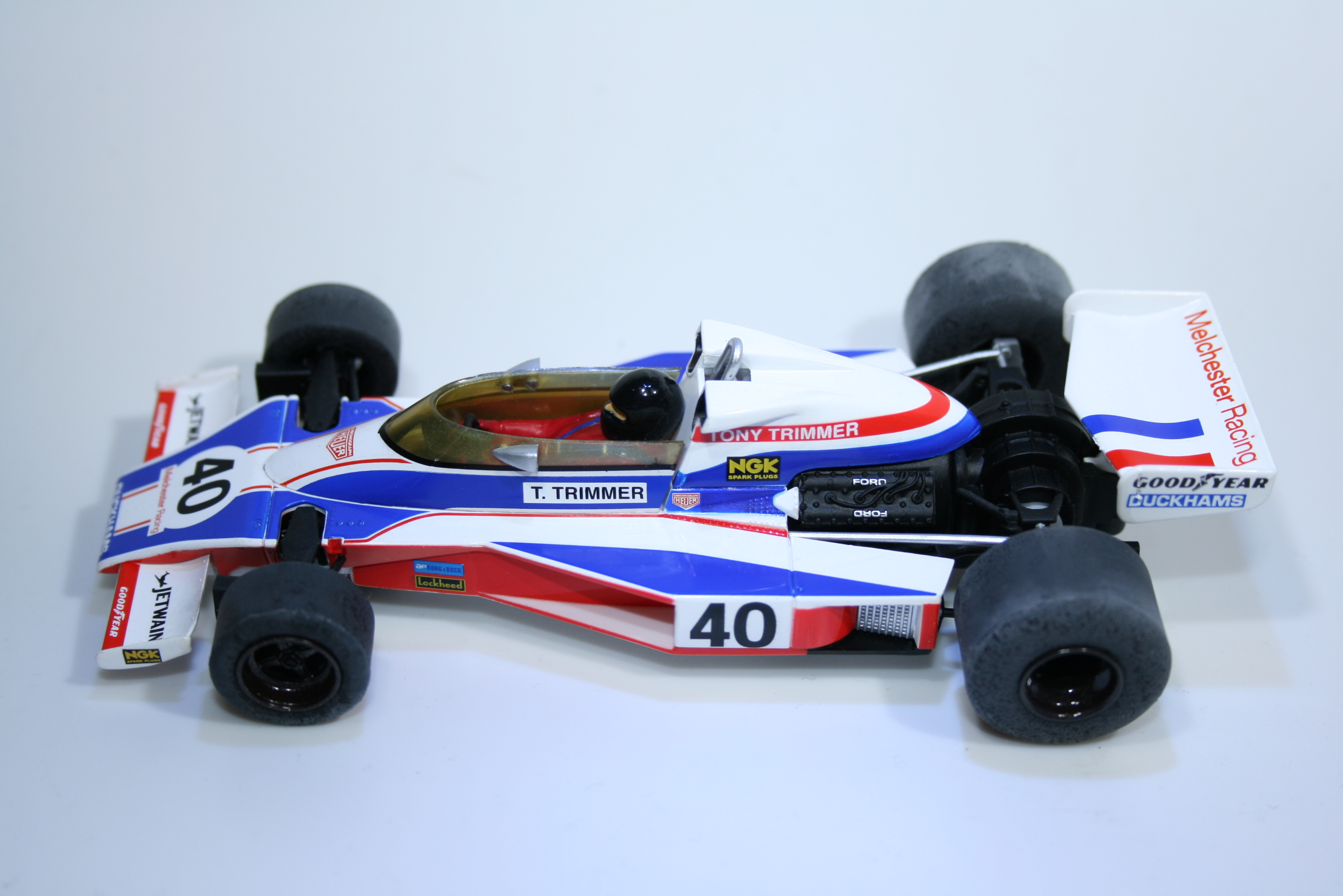 834 Mclaren M23 1978 T Trimmer Scalextric C3414A 2015 Boxed