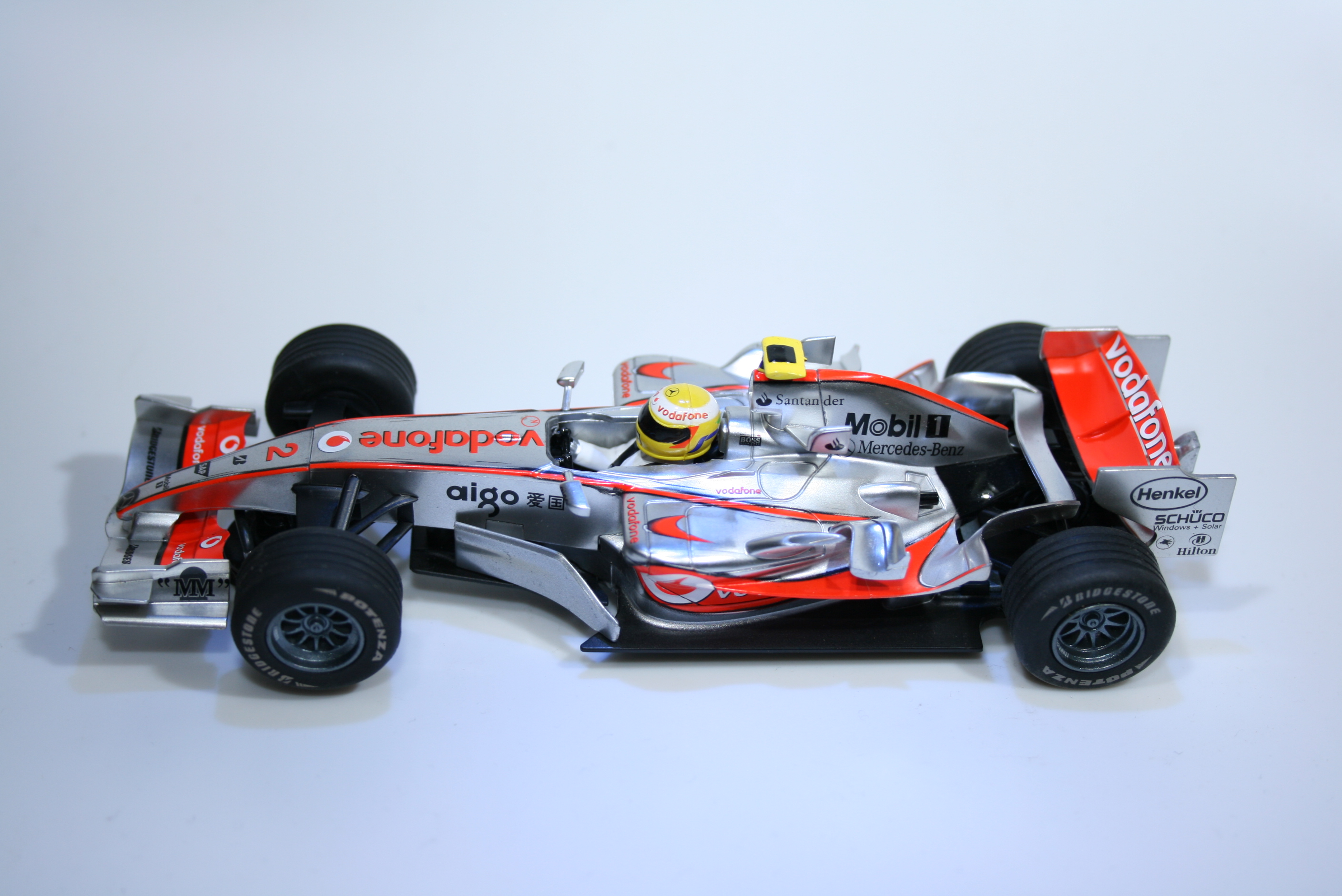 865 Mclaren MP4/21 2006 L Hamilton Scalextric C2880 2008 Boxed