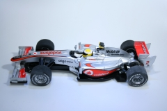 864 Mclaren MP4/25 2010 L Hamilton Scalextric C3043 2010 Boxed