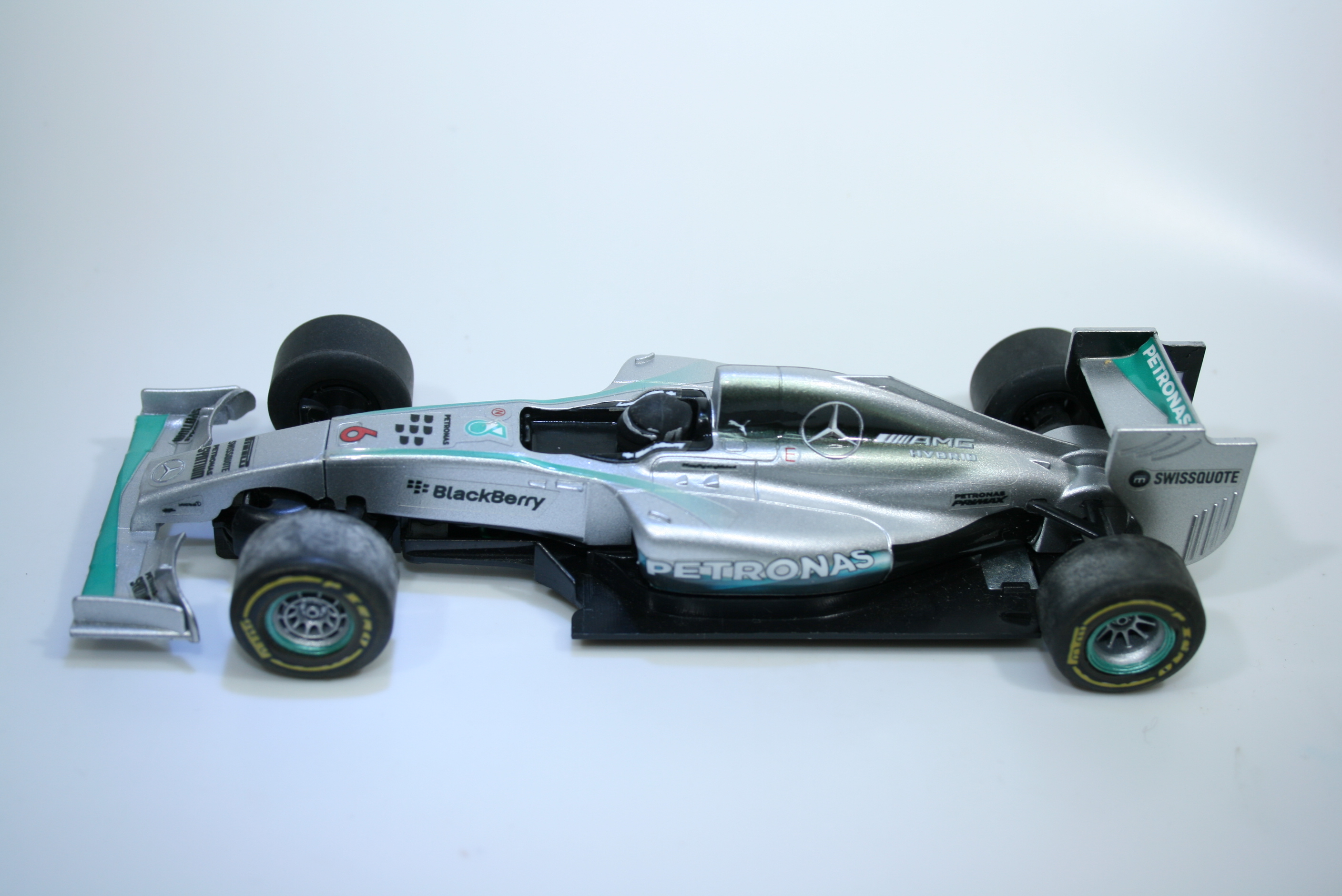 1289 Mercedes W05Hybrid 2014 L Hamilton Scalextric C3693 Pre Production 2015