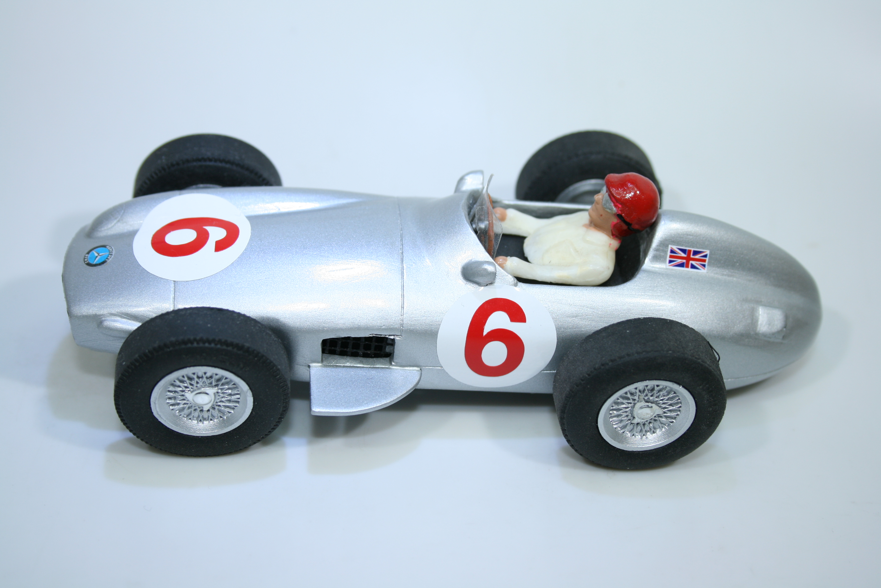 1558 Mercedes W196 1955 S Moss Scratch Built
