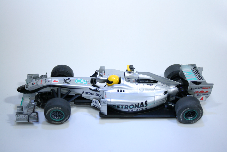 610 Mercedes MGP W01 2010 N Rosberg Scalextric C3147 2011 Boxed