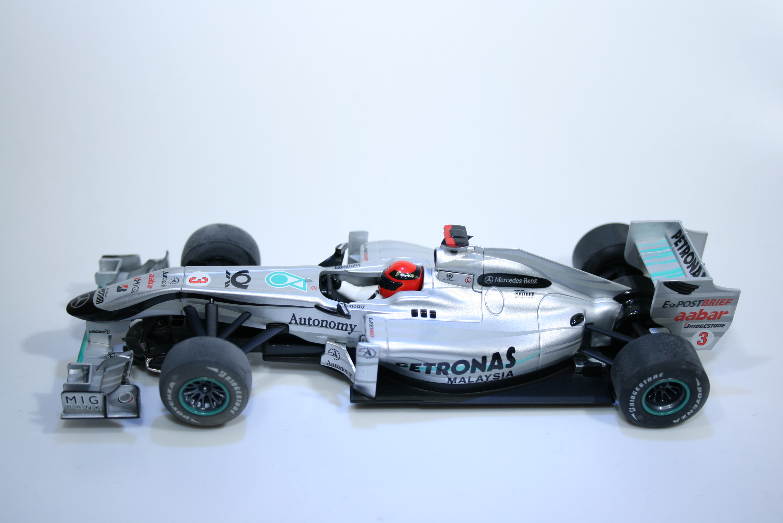 635 Mercedes MGP W01 2010 M Schumacher Scalextric C3148A 2011 Boxed