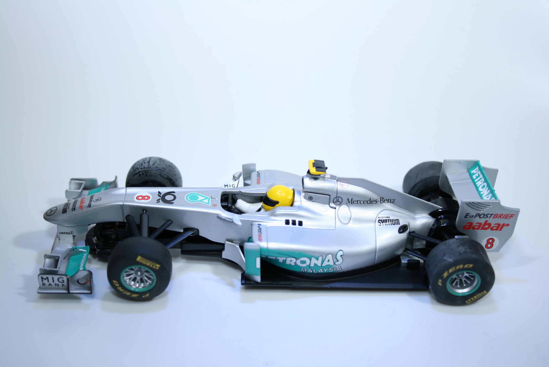 674 Mercedes MGP W02 2011 N Rosberg Scalextric C3168 2012 Boxed