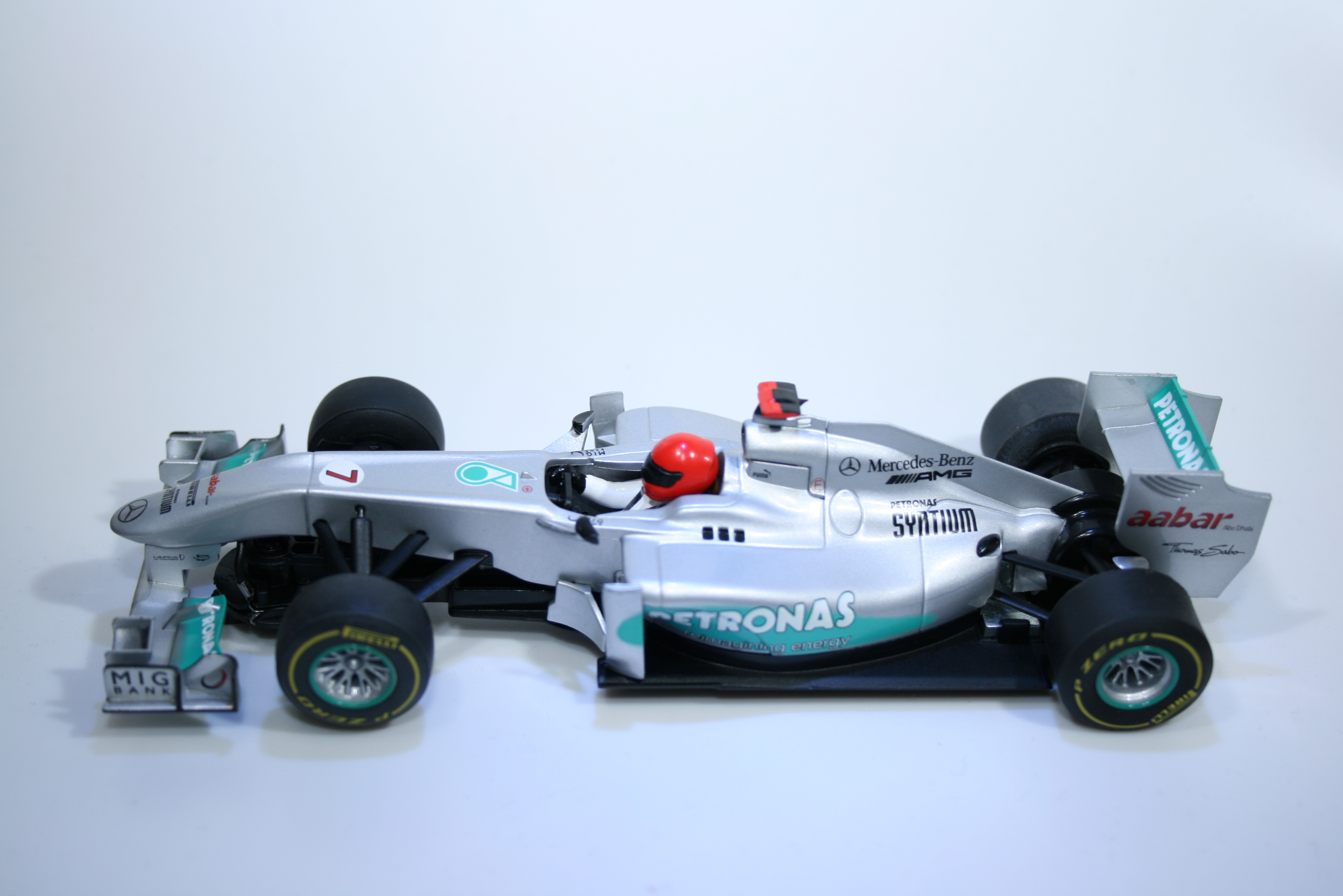 727 Mercedes F1 W03 2012 M Schumacher Scalextric C3263 2013 Boxed