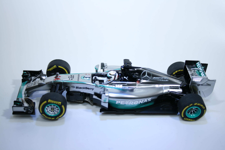 871 Mercedes F1 W05 Hybrid 2014 L Hamilton Carrera 27495 2015 Boxed