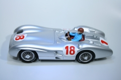 1043 Mercedes-Benz W196R 1955 J M Fangio Top Slot TOP-7115 Boxed
