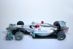 673 Mercedes MGP W02 2011 M Schumacher Scalextric C3167 2012 Boxed