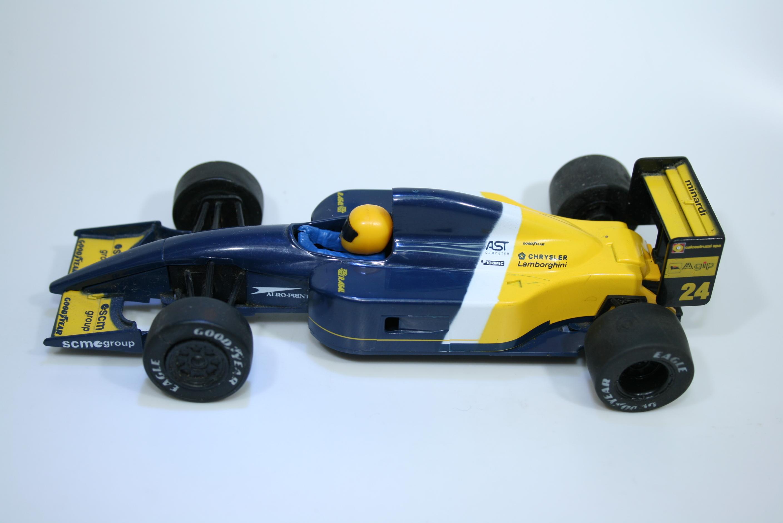 1482 Minardi M192 1991 G Morbidelli Scalextric C184 1995-96 Decal Fault