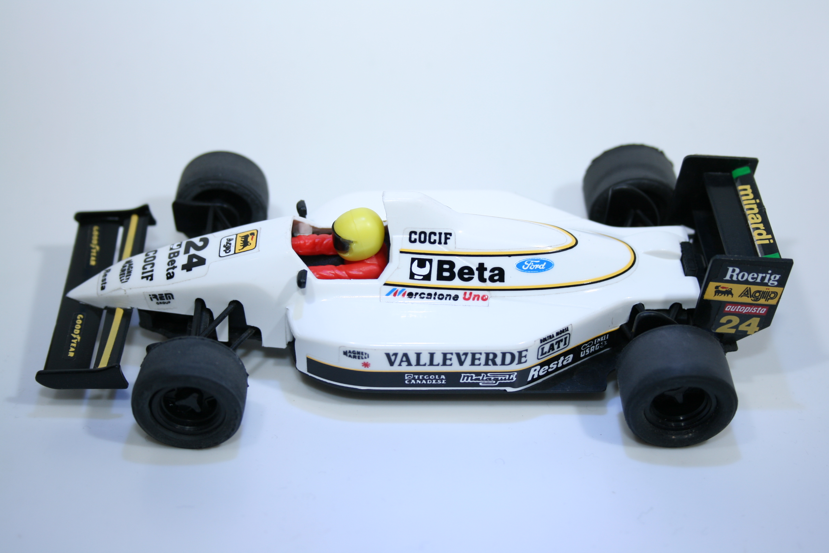 93 Minardi M193 1993 F Barbazza SCX 8374 1994 Boxed