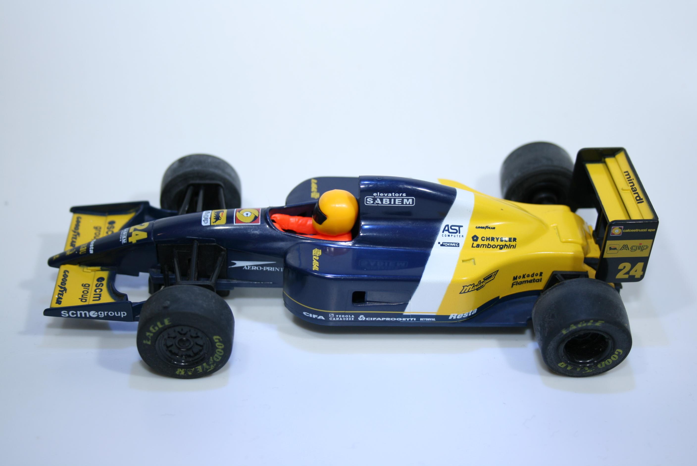 94 Minardi M192 1991 G Morbidelli Scalextric C184 1995-96