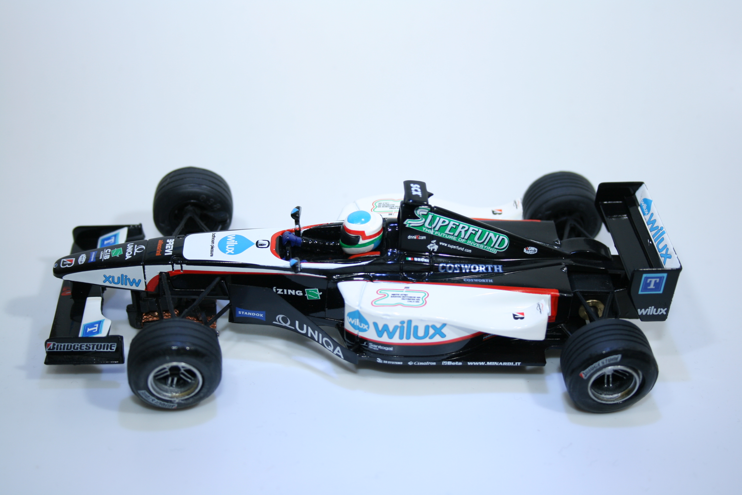 98 Minardi PS04 2004 G Bruni SCX 6152 2004 Boxed