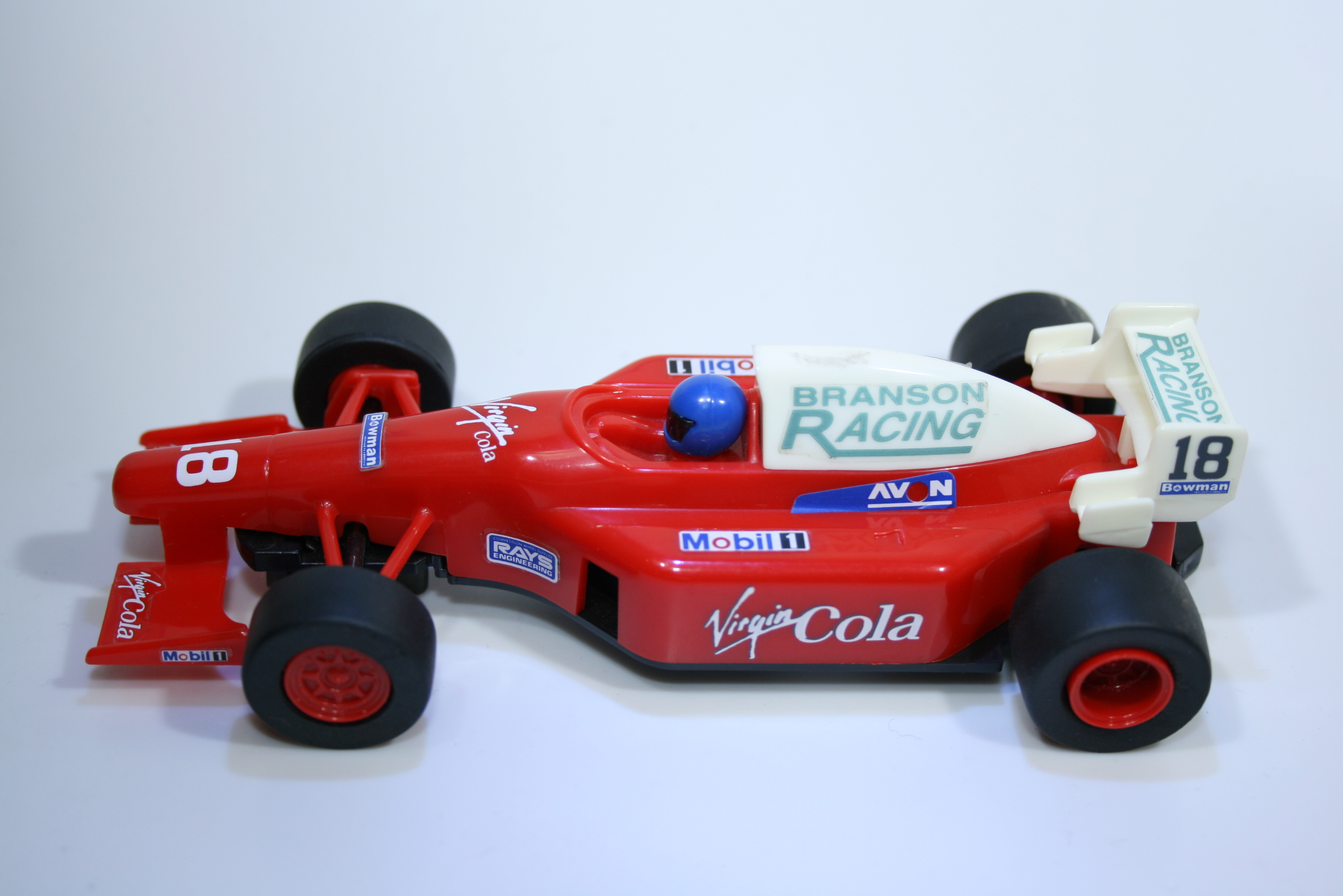 218 Scalextric Team Car Virgin Cola C2016 1998-99