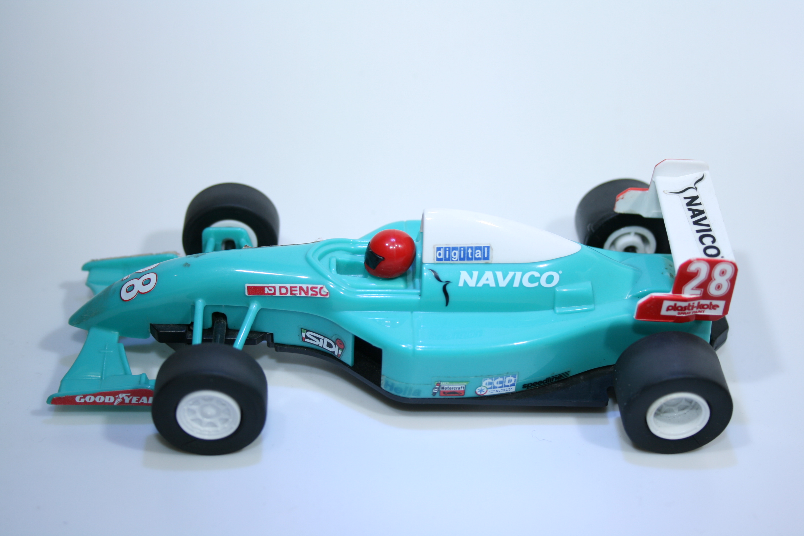 254 Scalextric Team Car Navico C613 1999