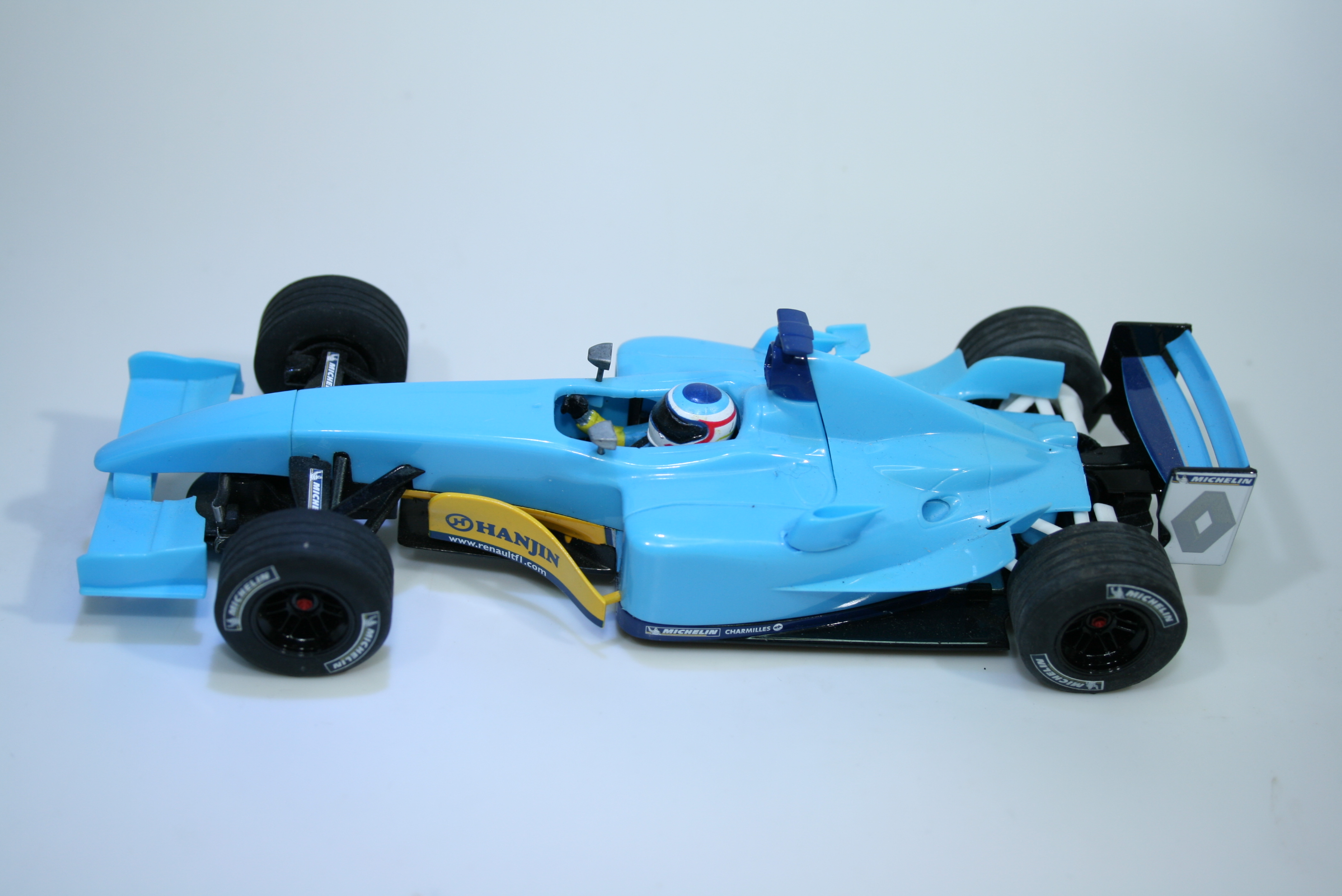 1282 Renault R23 2003 J Trulli Scalextric C2397A 2003 Pre Production Assembly Sample