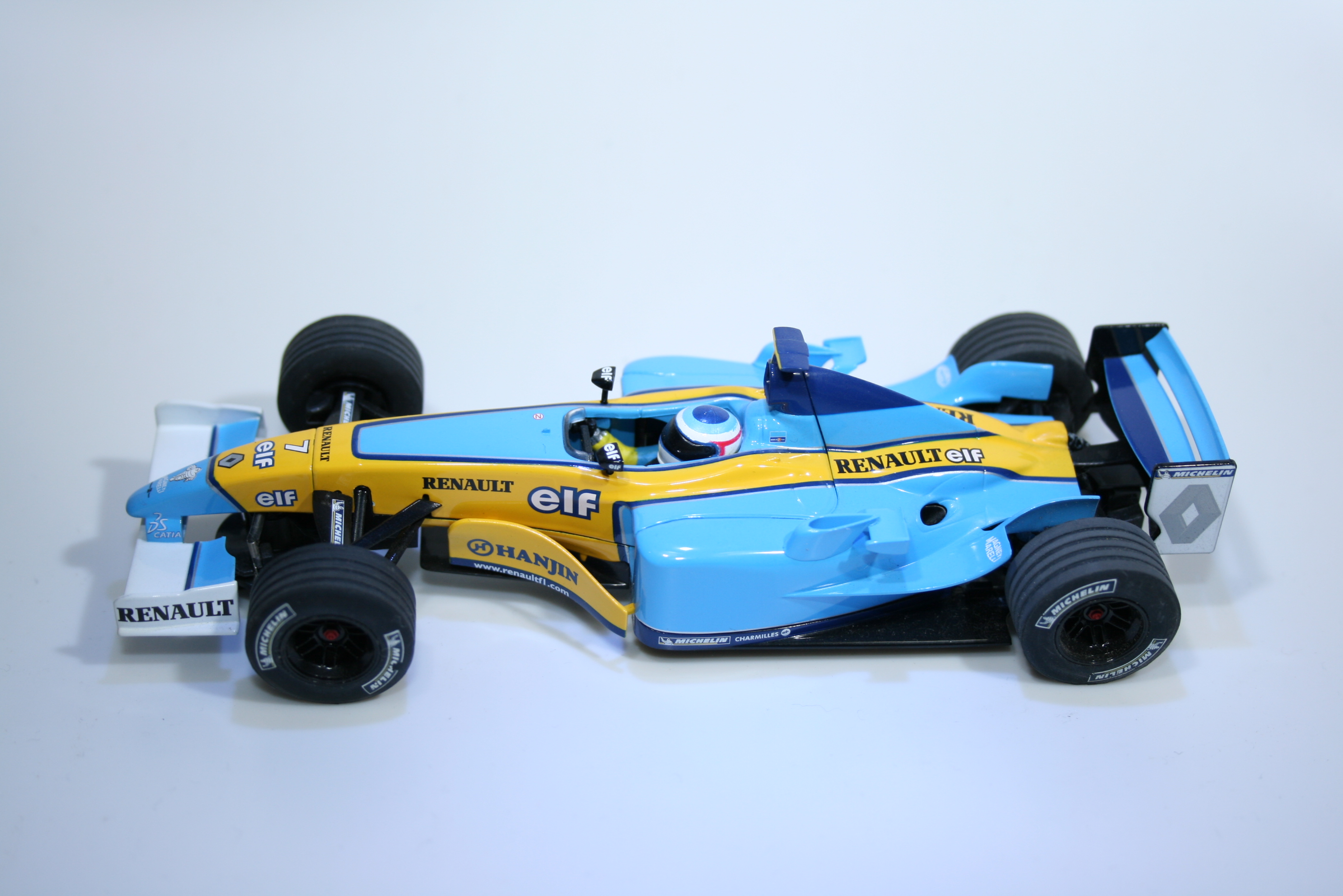 171 Renault R23 2003 J Trulli Scalextric C2397A 2003 Boxed