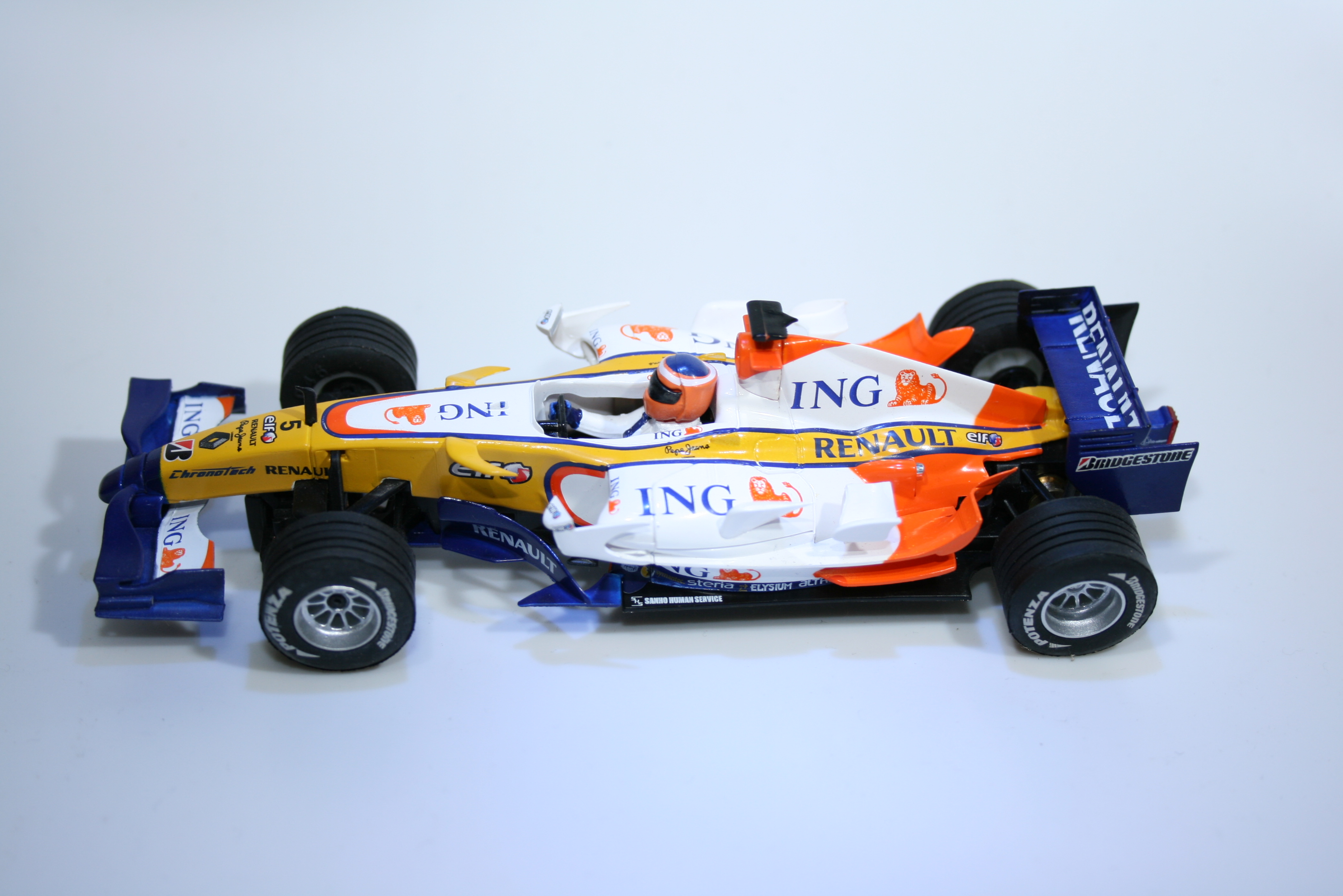 784 Renault R28 2008 F Alonso SCX Grandes Campeones 2008 Boxed