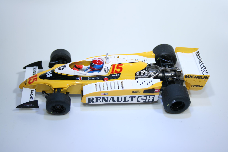 899 Renault RS10 1979 J P Jaboulie Slot Racing Co 02103 2015 Boxed