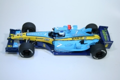 1390 Renault R24 2004 J Trulli Scalextric C2581 2004 Boxed Pre Production Hand Painted