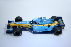175 Renault R25 2005 F Alonso Scalextric C2649 2005