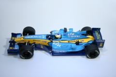 176 Renault R25 2005 G Fisichella Scalextric C2648 2005 Boxed