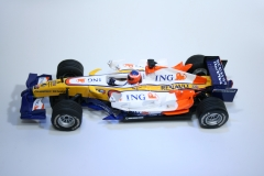 457 Renault R28 2008 F Alonso SCX 63320 2008 Boxed