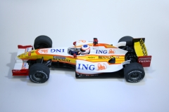 556 Renault R29 2009 N Piquet JR Scalextric C2988 Boxed