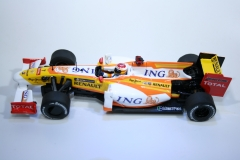 888 Renault R29 2009 F Alonso Slot Real Car Boxed