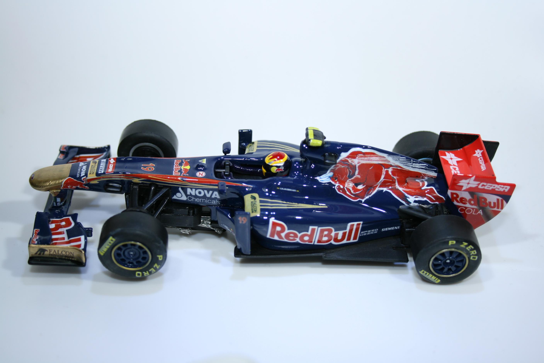 887 Toro Rosso STR6 2011 J Alguersauri Slot Real Car 2012 Boxed