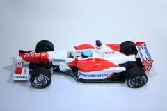 221 Toyota TF102 2002 M Salo Scalextric C2455 2003 Boxed