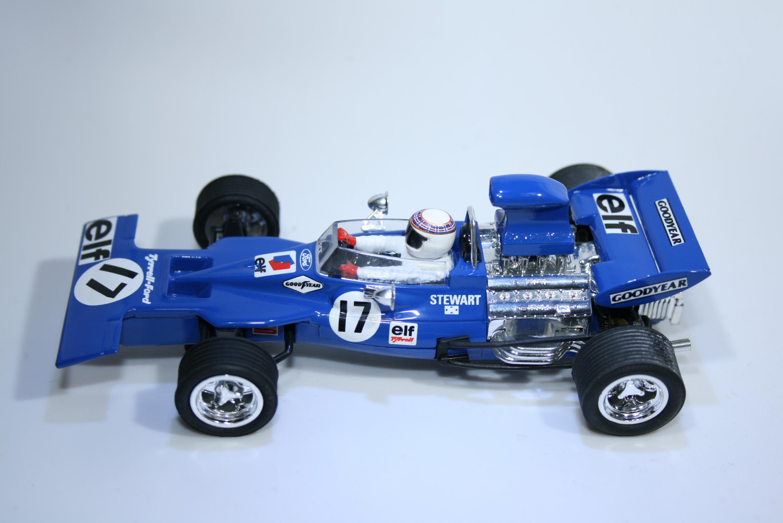105 Tyrrell 003 1971 J Stewart SCX 6178 2005 Boxed