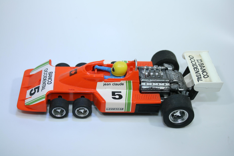 1261 Tyrrell P34 1976 P Depailler EXIN 4054 1977-89