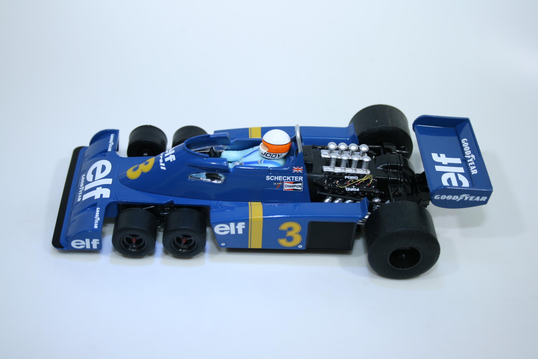 1636 Tyrrell P34 1976 J Scheckter Scalextric C4189A 2021 Boxed Set