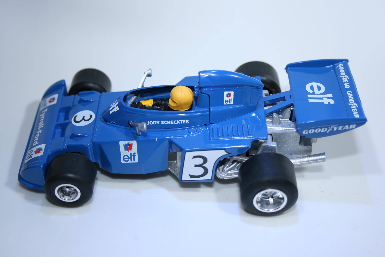 302 Tyrrell 006 1973 J Stewart Policar PC023 1973-74 Boxed