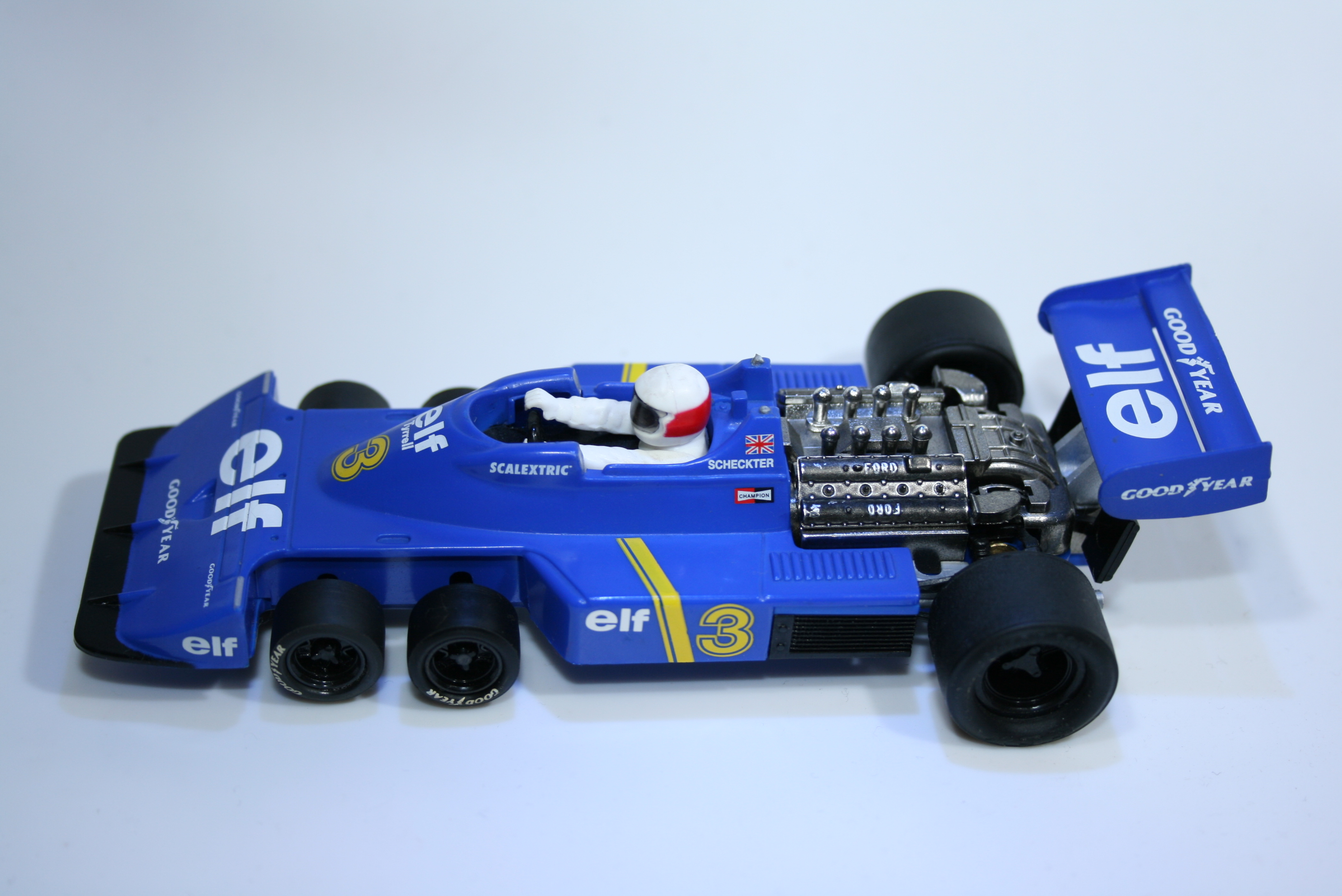 79 Tyrrell P34 1976 J Scheckter Technitoys Coches Miticos Altaya 2001