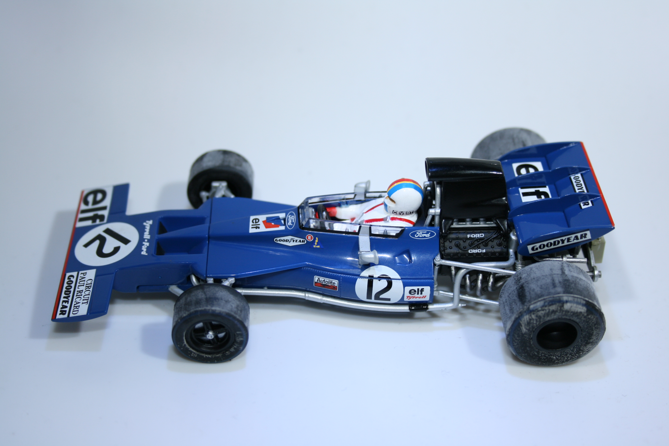 797 Tyrrell 002 1971 P Ricard Scalextric C3482A 2014 Boxed