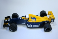 866 Tyrrell 018 1989 J Alesi Scalextric C467 Relivery