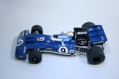 896 Tyrrell 002 1971 F Cevert Scalextric C3759A 2015 Boxed
